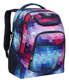 This Kaleidoscope Tribune Backpack is perfect! #zulilyfinds