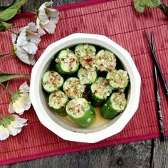 Quick Cucumber Kimchi