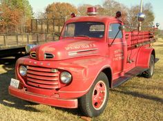 post by skip  Old Ford Fire Truck _ By Robert LZ