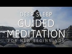 Deep Sleep Guided Meditation for New Beginnings (Dream Affirmations for Powerful Change) Guided Meditation For Sleep, Guided Relaxation, Meditation For Anxiety, Types Of Meditation, Reiki Meditation, Meditation Benefits, Meditation For Beginners, Meditation Techniques, Meditation Quotes