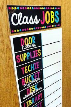 Kindergarten Job Chart, Preschool Classroom Jobs, Preschool Job Chart, Classroom Jobs Board, Classroom Jobs Display, Classroom Job Chart, Classroom Calendar, Classroom Organisation, Classroom Rules