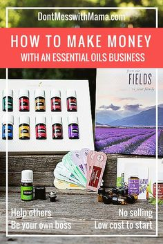 How to Make Money with a Young Living Essential Oils Business #business #essentialoils - DontMesswithMama.com