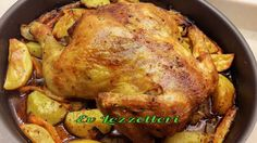 ❤️ Fancy tasty: Platthuhn with garlic and lemon butter - Healthy Recipes! Tarragon Chicken, Roasted Chicken, Lemon And Coconut Cake, Lemon Butter, Cake With Cream Cheese, Chicken Casserole, I Foods, Chicken Recipes, Chicken Flavors