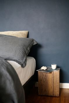 Dare to go for a darker palette – create that moody Nordic feel when approaching winter nights. Styling & photography by Design Hunter and posted in collaboration with Dulux.
