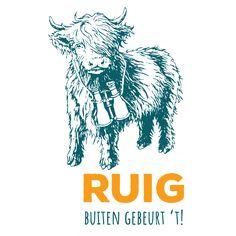 Logo voor Ruig, samen met Een Allegaartje