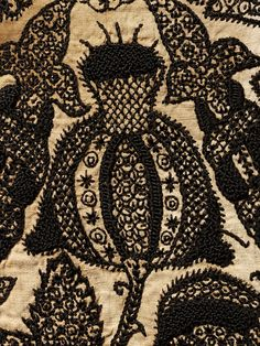 Smock        Place of origin:        England, Britain (embroidered)      Date:        1575-1585 (made)      Artist/Maker:        Unknown (production)      Materials and Techniques:        Embroidered linen with silk      Museum number:        T.113 to 118-1997