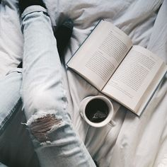 Perfect afternoon for green tea and reading in bed. Happy Thursday! Friday is almost here.