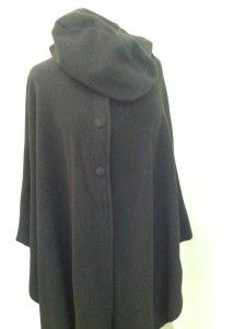 Make a dramatic entry for next to nothing--#LL Bean, one size Polarfleece #cape, $14