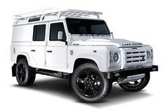 Custom Land Rover Alpine Defender by Twisted Land Rover Defender 110, Landrover Defender, Car Sounds, Roof Rack, Video Photography, Range Rover, Honda Civic, Landing, Automobile