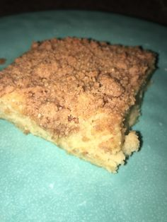 THM coffee cake-I've seen where others have left off the crumb topping and used it for strawberry shortcake!