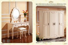 Item No.:606A#Bed(W1.8m),606B#4-Door wardrobe with 6M01#Door,606D#Dresser,6ZJ02#Mirror,6ZD01#Stool,606C#Night table   Material:Medium Density Fibre board.Packing details:5 layer standard exporting master carton;extra packing patterns are provided as per customers' request.Payment Terms:T/T only.If you want to buy it,please email us at tophandvip@foxmail.com.