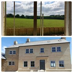 Our Current Development Providence House in Collingham is really coming together now that the windows have been fitted the roof is on and plasterers will be starting next week. Just look at that wonderful view - perfect on these hot summer days! Providence House, Come Together, Luxury Living, Summer Days, Yorkshire, Luxury Homes, New Homes, Windows, Hot