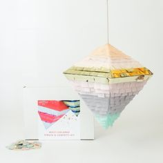 DIY a piñata for your next fiesta using this kit from the Brit + Co Shop.