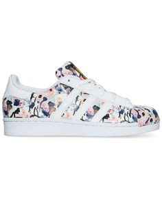 Adidas Floral Superstar Sneakers