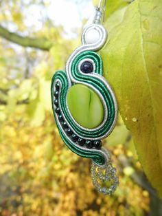 Kolczyk - w harmonii z naturą / Earring - in harmony with nature