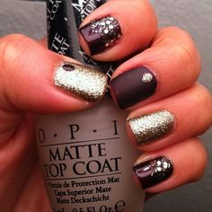 Matte Glitter via Pinterest: Discover and save creative ideas on We Heart It