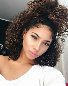 """misscurlyqueen: """"IG: """" Braids Curly hair cuts hair styles for girls with curly hair - Hair Style Girl Cute Short Curly Hairstyles, Curly Hair Styles, Natural Hair Styles, Curly Haircuts, Black Hairstyles, Amazing Hairstyles, Girl Hairstyles, Hairstyles 2016, Natural Curly Hairstyles"""