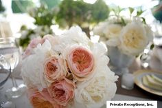 Oh, so this is what perfection looks like! Peony wedding centerpieces I LOVE PEONIES