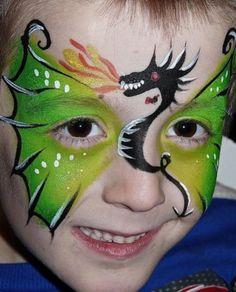 dragao-fantasia-de-ultima-hora_mais-de-50-ideias-para-pintura-facial-infantil