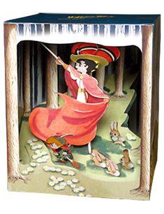 立版古 tatebanko   Osamu Tezuka, Princess Knight paper diorama