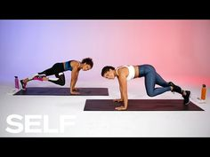 20-Minute Bodyweight Cardio Workout You Can Do At-Home | SELF - YouTube