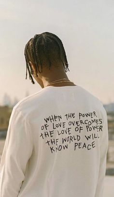 When the power of love overcomes the power of power, the world will know peace Rap Wallpaper, Aesthetic Iphone Wallpaper, Aesthetic Wallpapers, Bedroom Wall Collage, Photo Wall Collage, Picture Wall, The Words, Mood Quotes, Life Quotes