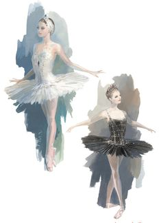 The new Swan Lake production by Boston Ballet.  Costume designs by Robert Perdziola.