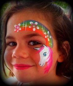 Trendy Unicorn Art For Kids Image Face Paintings 45 Ideas Face Painting Unicorn, Girl Face Painting, Unicorn Face, Body Painting, Face Painting Images, Face Painting Tutorials, Face Painting Designs, Face Paintings, Unicorn Illustration