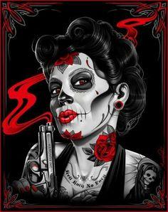 Sugar Skull Babe