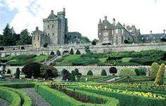 Drummond Castle /Scotland
