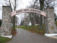 Sounds of ghostly horses can be heard at the Mount Hope Cemetery in Logansport, Indiana.