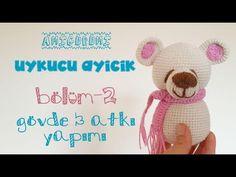 Amigurumi Uykucu Ayıcık Yapımı - Baş, Kulak, Burun   Bölüm-1   Sleepy Bear   Part-1   biss - YouTube