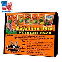 Antler King Mega Food Plot Starter Pack