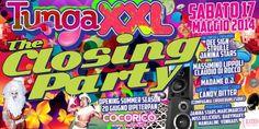 Ultimo appuntamento della festa più pazza del #Cocoricò #Riccione. #Sabato 17 #maggio vi aspetta Tunga XXL