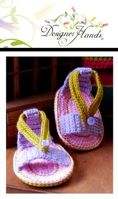 Baby Sandals for those hot summers.