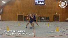 Pivot - 1v1 turn and shoot drill