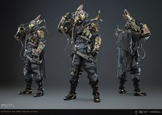 Combat Armor, Science Fiction, Fictional Characters, Robots, Soldiers, Cyber, Grid, Exo, Sci Fi