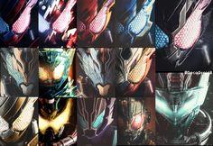 Kamen Rider Kabuto, Kamen Rider Zi O, Meme Pictures, Power Rangers, Gundam, Childhood Memories, Action Figures, Geek Stuff, Logo