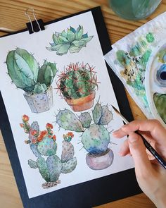 study by Lera Renne . - Watercolor study by Lera Renne . -Watercolor study by Lera Renne . - Watercolor study by Lera Renne . Watercolor Plants, Watercolor Drawing, Watercolor Illustration, Painting & Drawing, Watercolor Paintings, Gouache Painting, Drawing Artist, Watercolors, Wood Illustration