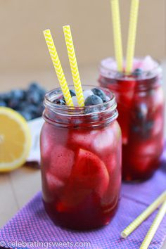 Blueberry Lemonade Recipe on Yummly