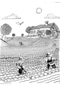 Quino - Gente en su sitio (People in their Place, Sathya Sai Baba, Everything And Nothing, Humor Grafico, Black And White Illustration, Caricature, Illustration Art, Memes, Funny, People