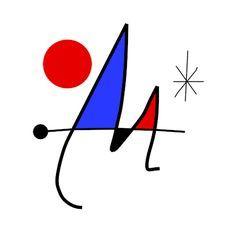 miro Miro Artist, Joan Miro Paintings, Spanish Art, Magritte, Art For Art Sake, Simple Art, Pablo Picasso, Art Plastique, Oeuvre D'art