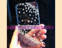 iphone 5 case - iPhone 5 cover - Bling iPhone 5 case - Clear iPhone 5 case - Crystal iphone 5 case - iPhone 5 hard case cover