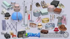 Wardrobe stuff at SIMcredible! Designs 4 via Sims 4 Updates