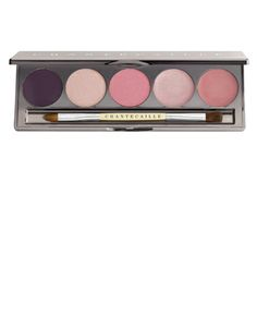 includes blush, cream highlighter, liner, and shadows...
