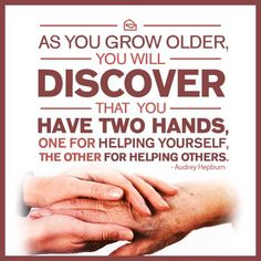 Who have you helped recently? It isn't as sweet unless you help someone who is in need!
