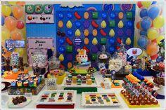 festa candy crush saga/ festa doces/ festa colorida/ candy crush party