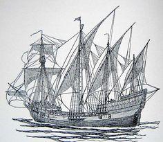 Segelschiff, Schiff, Meer, Boot | Schiff zeichnen ...