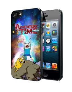 Adventure Time Jake The Dog And Finn The Human In Galaxy Nebula Samsung Galaxy S3 S4 S5 S6 S6 Edge (Mini) Note 2 4 , LG G2 G3, HTC One X S M7 M8 M9 ,Sony Experia Z1 Z2 Case