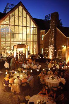 Southern Green + White Wedding, Cheekwood Gardens